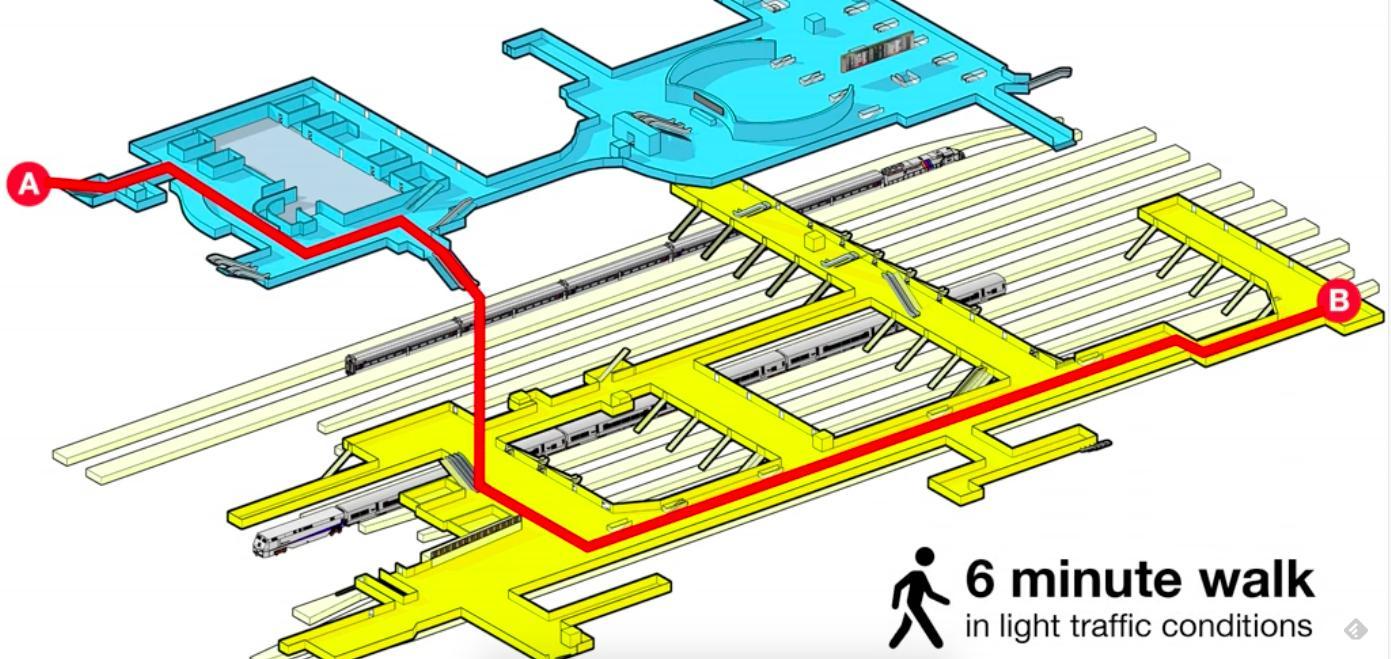penn station nyc subway map. new york penn station map  penn station nyc subway map (new york