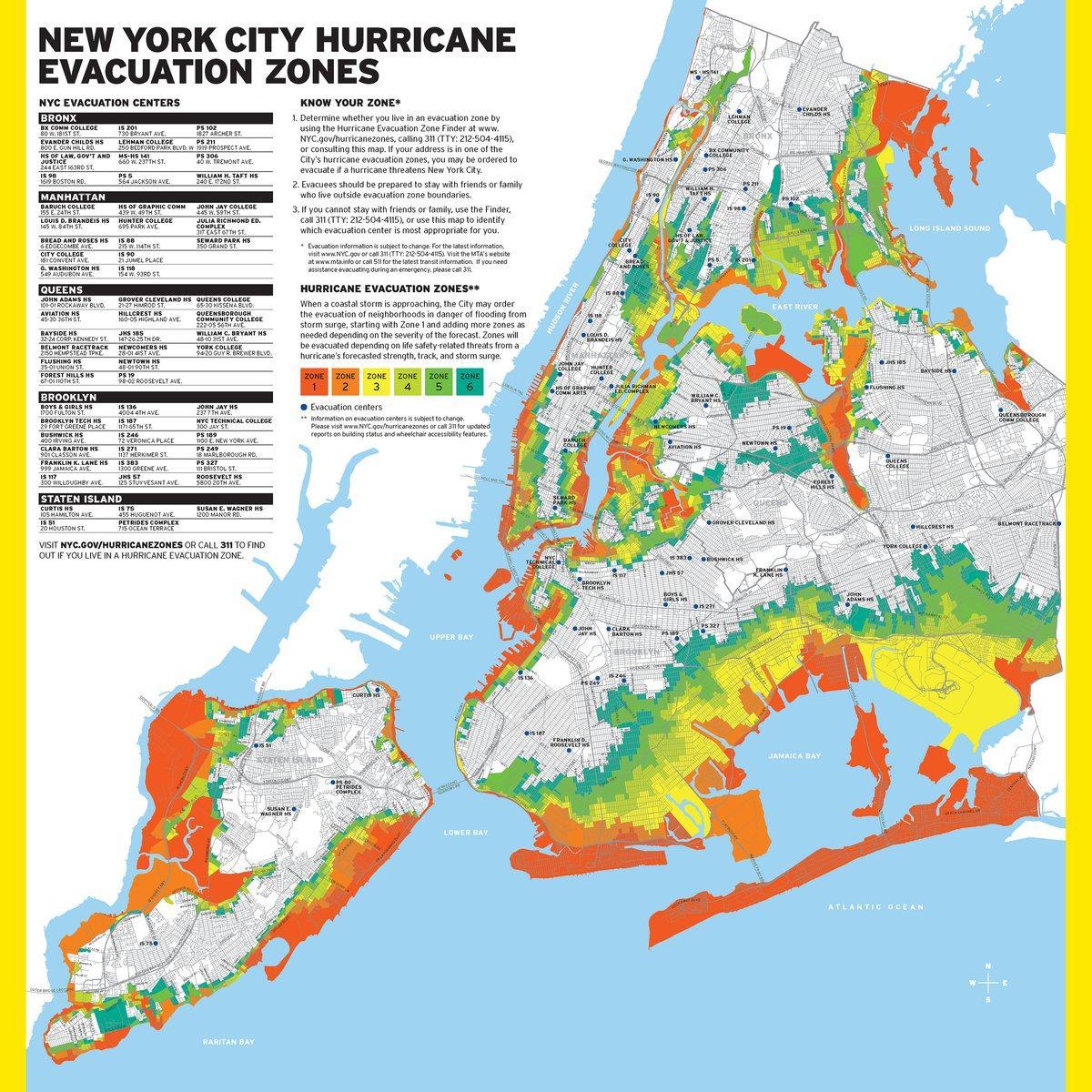 nyc flood map. nyc flood zone map  nyc flood map (new york  usa)