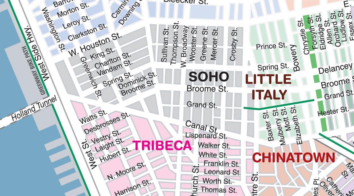 Soho Little Italy Chinatown Walking Tour