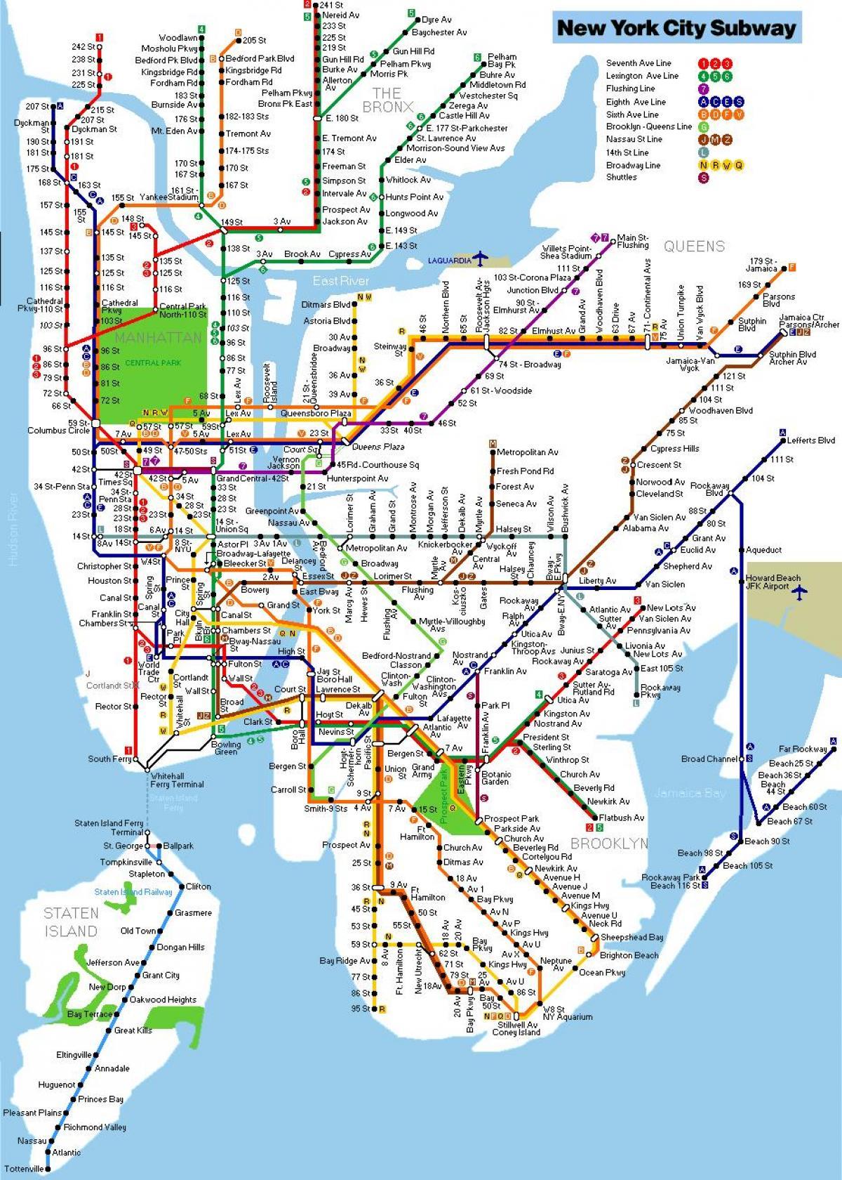 map metro new york. nyc metro map  map metro new york (new york  usa)